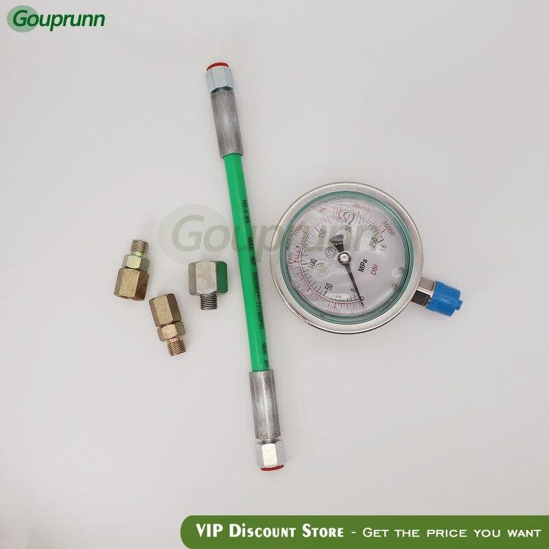 New Common Rail Pressure Test Gauge 0-250Mpa Common Rail High Pressure Tester For Diesel Oil Circuit Common Rail Plunger Tester