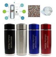 Hydrogen Negative ION Water Ionizer Alkaline Energy Flask Dual Filter Health Care