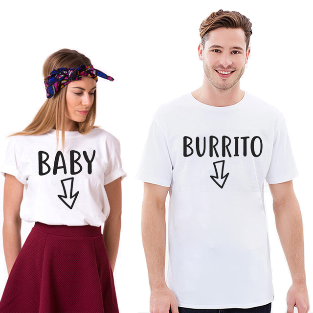 70b82fa187a30 EnjoytheSpirit Couple Tshirt Pregnancy Announcement Shirts Funny Matching T-Shirts  Tee Women Men New Dad