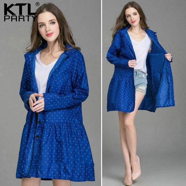 dd336c0000d KTLPARTY Womens Fashion raincoats female outdoor travel rainwear lady  waterproof sunscreen walking poncho wind-breaker