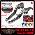 Motorcycle Adjustable Folding Extendable Extending Brake Clutch Levers fits For YAMAHA MT-03 MT03 MT-03 2015-2016