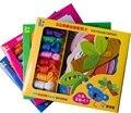 Educação precoce das crianças para usar corda cartão de harmonização cognitiva Iluminismo brinquedos cartões
