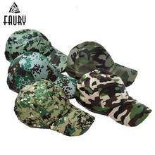Military Woman Camouflage Outdoors Sports Man Sun Hat Training Tactical Army cap Ww2 Multicam Askeri Malzeme