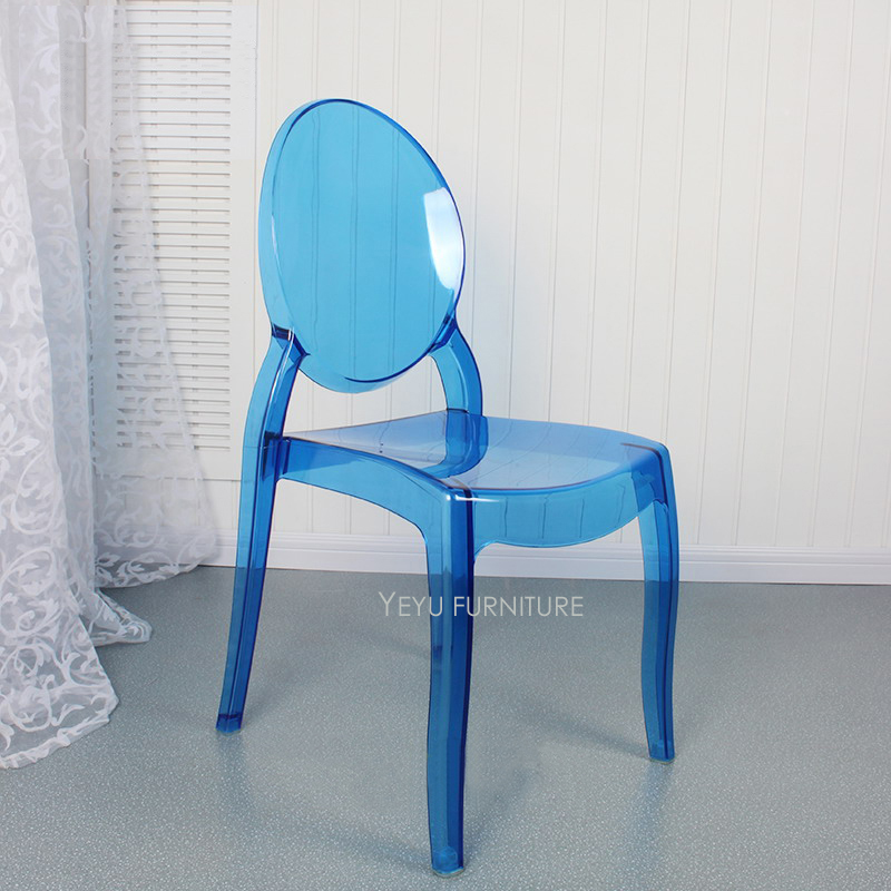 fashionable design teal dining chairs. Modern Design Stackable Transparent Clear Polycarbonate Acrylic Dining Chair  Fashion design Crystal Stack Cafe 2PCS in Chairs from