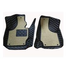 Carnong araba mat zemin deri AUDI TT 2 ön koltuk 2008 2014 bir veya iki katmanlı seçtiğiniz için