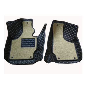 Image 1 - Carnong car mat floor Leather for AUDI TT 2 front seat from 2008 2014 one or two layer for your choice