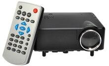 Горячие Продажи H80 Мини Проектор HD 1080 P Мини ЖК-Цифровой видео Игры Проекторы Мультимедиа Плейер Входы AV VGA USB SD HDMI
