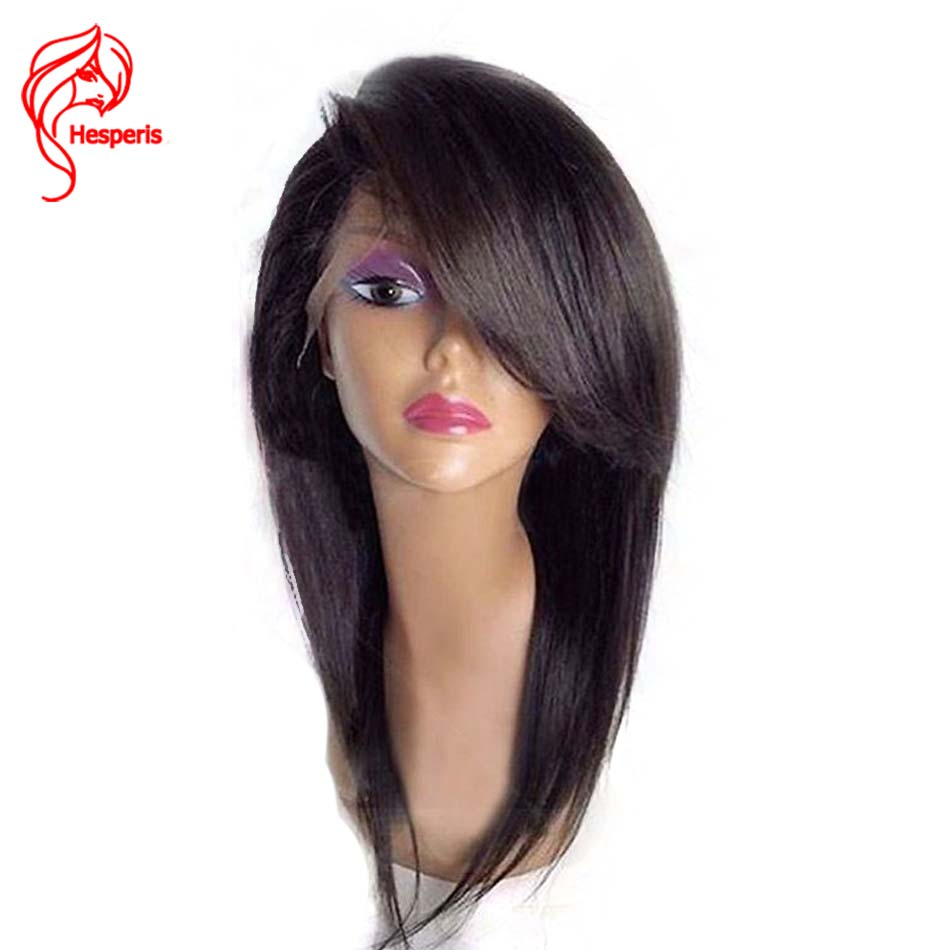 360 Lace Frontal Wig Pre Plucked With Baby Hair Brazilian Remy Lace Front Human Hair Wigs