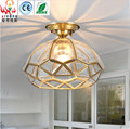 American country full copper ceiling lamps can be used for such corridors entrance balcony bedroom ceiling lighting