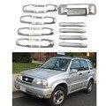 Для Suzuki Vitara Grande Escudo 2 0 1998-2005 автомобильные крышки для дверных ручек ABS хромированные аксессуары наклейки для стайлинга автомобиля 10 шт.