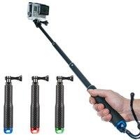 Gopro Selfie Stick Accessories Handheld Monopod Tripod Waterproof Extendable For Go Pro Hero 3 4 SJ4000