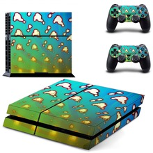 Game Kingdom Hearts 3 PS4 Skin Sticker Decal Vinyl For Sony PS4 PlayStation 4 Console and 2 Controllers PS4 Skin Sticker