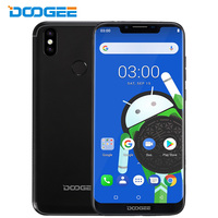 Doogee BL5500 Lite 4G LTE 6.19 Inch 19:9 Notch Screen Smartphone Android 8.1 Oreo 2G+16G 5500mAh Fingerprint 13.0MP Mobile Phone