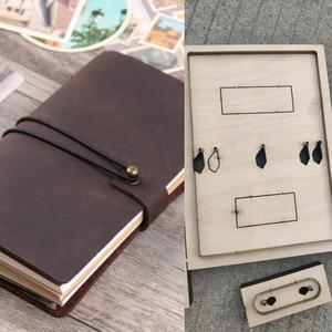 Image 2 - DIY skóra craft notebook torba na paszport okładka die cutting forma do wycinania wytłaczany ręcznie szablon narzędzia