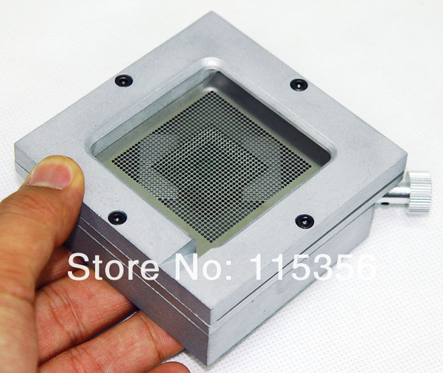free shipping HT-90 90mm universal diagonal reball station reballing station PCB holder jig