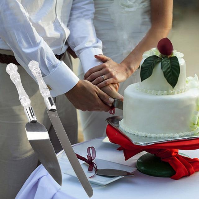 Personalized Wedding Resin Cake Knife Serving Set Custom Cake Knife & Shovel Birthday Gift Party Decoration High Quality