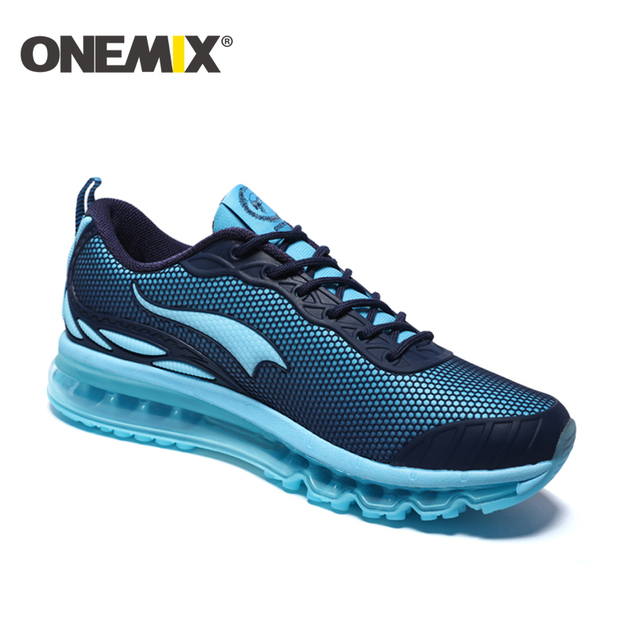 ONEMIX New Men Sport Shoes Breathable Outdoor Running Shoes Boys Outdoor Walking Shoes 2016 chaussures hommes Free Shipping