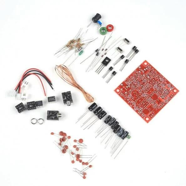 Quarenta e 9er 3 W Rádio AMADOR QRP CW Kit Transmissor Receptor de Rádio de Ondas Curtas