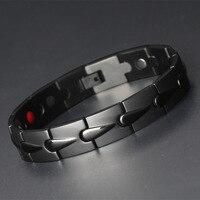 Bracelets with Magnet for Men Women Arthritis Pain Relief Black Color High Quality Luxury Magnetic Bracelet