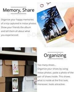 Image 5 - Orijinal Fuji Fujifilm Instax Mini 9 Film Beyaz Kenar Fotoğraf Kağıtları Mini 9 8 7 s 90 25 55 payı SP 2 Anlık Kamera 50 yaprak