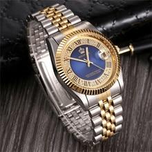 Топ Элитный бренд Реджинальд часы для мужчин модные кварцевые часы нержавеющая сталь часы для мужчин s часы horloges mannen erkek коль saati