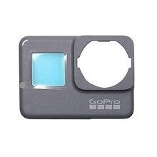 Płyta czołowa przednia okładka płyta czołowa dla GoPro Hero 6 5 oryginalna obudowa ramowa naprawa część zamienna naprawić Hero5 Hero6 z przodu Panel obudowa