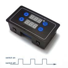 Программируемый Модуль управления циклом с таймером обратного отсчета 0,1 s-999 h, реле времени 5 в 6 в 12 В 24 В 220 В на ваш выбор
