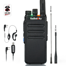 цена на Radioddity GD-77S Dual Band Dual Time Slot DMR Digital Analog Two Way Radio VHF UHF VOX TOT Tier I II Ham Walkie Talkie