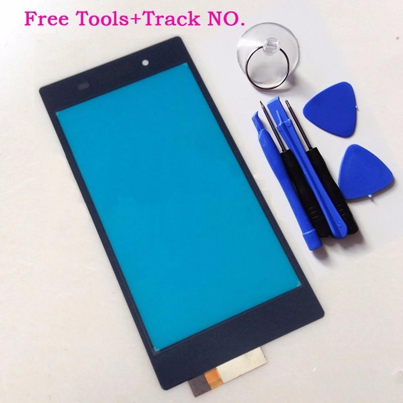 New Digitizer Touch Screen Per Sony Xperia Z L36H LT36i LT36h L36 C6603 C6602 Parti Anteriore Touchscreen In Vetro + Strumenti pannello del sensore