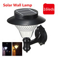 1X Outdoor Garden/Yard/Path/Patio Solar Wall Light Popular Solar lamp 3x1200mAh Ni-MH Battery Solar Lamp Decoration wall lampada