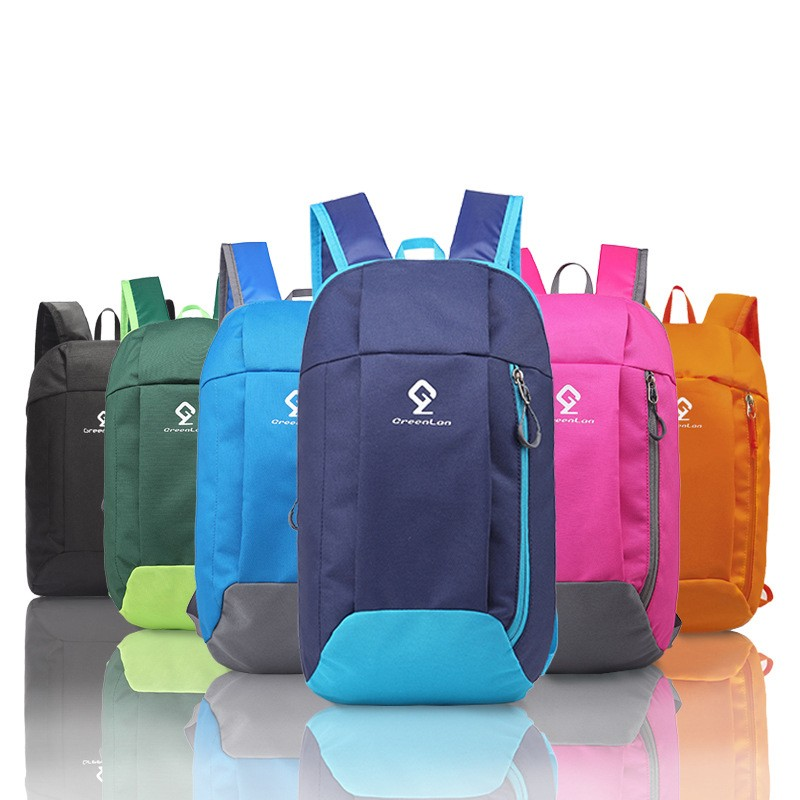 Casual Simple Small Backpack Unisex Outdoor Trekking Rucksack Men Women 10L Lightweight Travel Bag Canvas Backpack For Girls