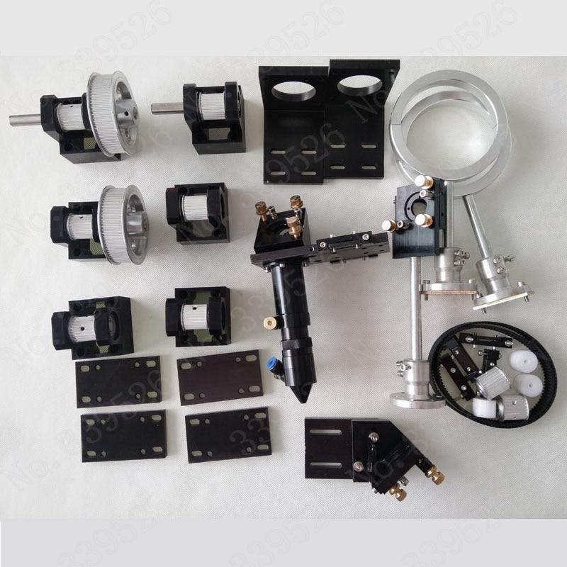 Co2 лазерной резки Запчасти гравировальный станок Запчасти оборудование передачи лазерной головки механические Компоненты/460 до 1610 ЧПУ