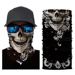 3D череп Магия Хэллоуин маска Для мужчин цифровой печати солнцезащитный крем шарф маски маска для Для мужчин и Для женщин YF2