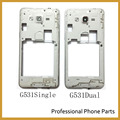 Original Middle Bezel Frame For Samsung Galaxy Grand Prime G531 SM-G531 Back Rear Housing With Power Volume Button Key