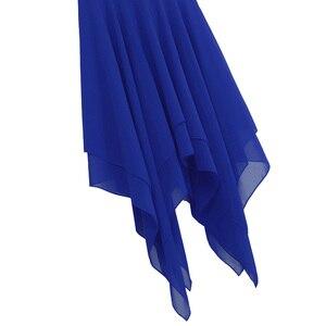 Image 5 - Iiniim Женская танцевальная одежда для взрослых, балетное танцевальное платье, шифоновое лирическое гимнастическое трико, костюмы, современное танцевальное платье