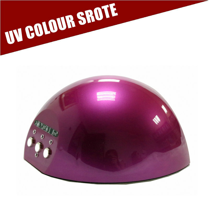Nail Dryer&FREE SHIPPING To Poland 24W LEDUV Lamp Professional With Timer 30s 60s Curing Nail Art Dryer Manicure Tools