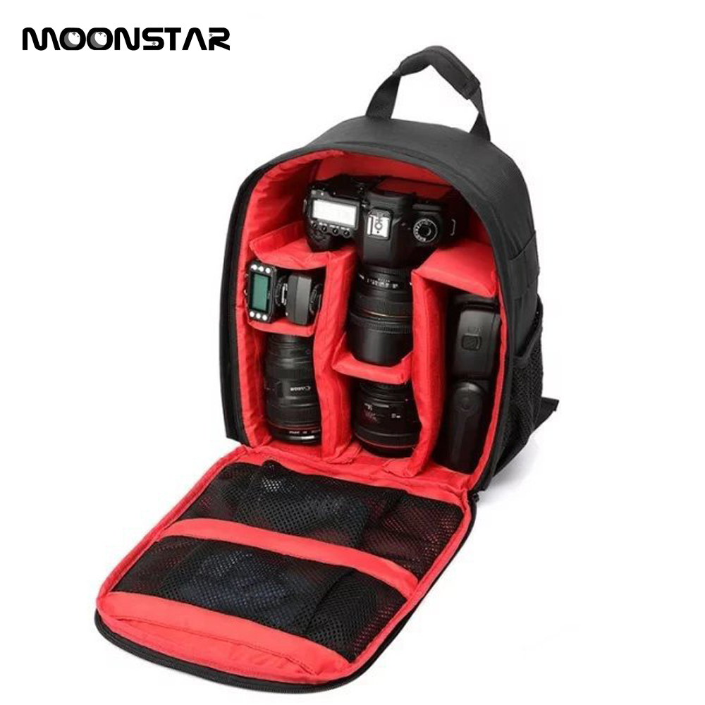 Outdoor Waterproof Digital DSLR Camera Video Bag multi-functional SLR Camera Bag For Photographer Sony Nikon D810 Canon 5D