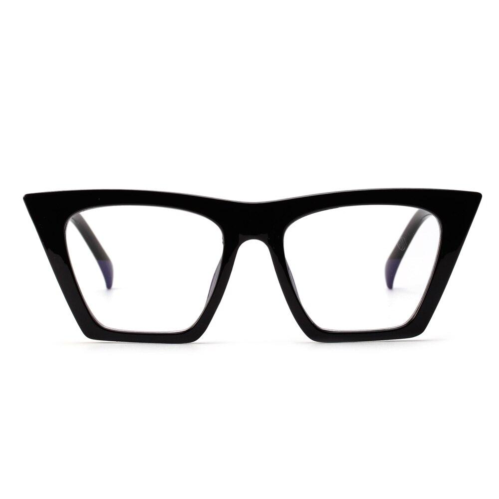 686c0b73ac Peekaboo black cat eye glasses frames for women brand designers 2018 cheap  eyewear frames female male flat top-in Eyewear Frames from Apparel  Accessories on ...