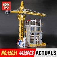 Lepin 15031 4425Pcs Genuine MOC Series The Construction site Building Blocks Bricks DIY Toys Model for Children Christmas Gifts