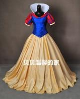 fancy costume custom made Snow White cosplay costume Princess adult women Halloween dress