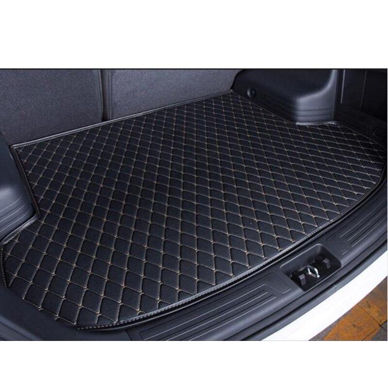 custom Car trunk mat for Land Rover defender Discovery 3 4 Rover Range Evoque Sport Freelander floor mats for cars    1