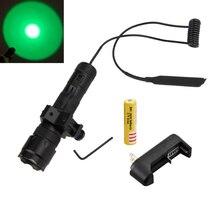 2500Lm XM-T6 LED 502B тактический фонарь + Давление переключатель + крепление пистолет + 3600 мАч 18650 Батарея + Зарядное устройство