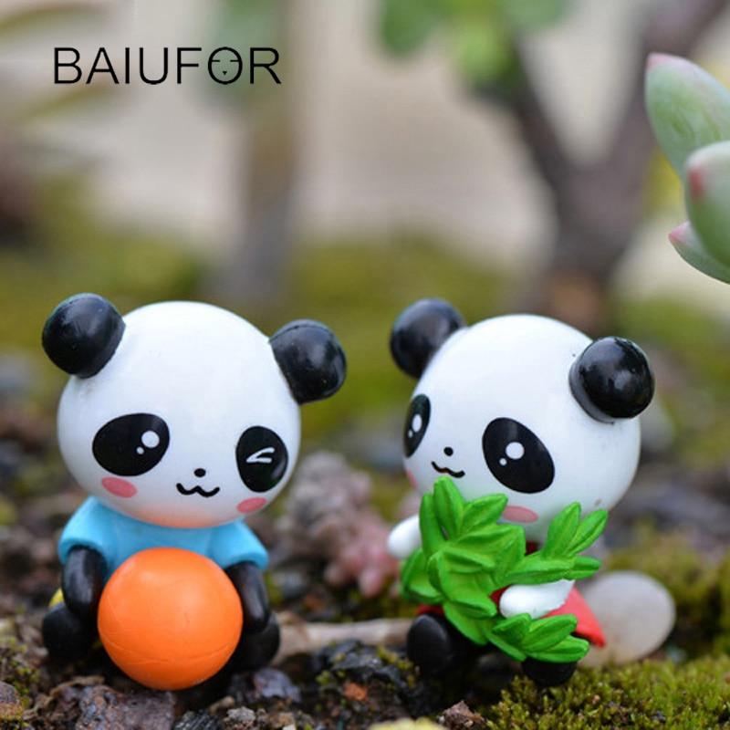 Kawaii Panda Baby Figurine Fairy Garden Miniature Mini Landscape ...