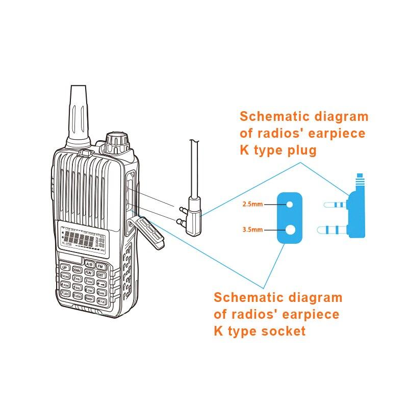 heavy duty speaker microphone ts h001 for baofeng wouxun hytera tyt two way  radio walkie talkie-in walkie talkie from cellphones & telecommunications  on