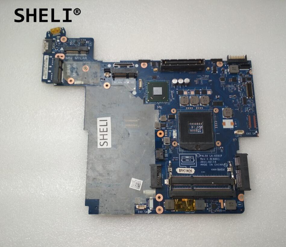 SHELI For Dell E6420 Motherboard LA-6591P CN-0X8R3Y CN-04XJ7H 4XJ7H X8R3YSHELI For Dell E6420 Motherboard LA-6591P CN-0X8R3Y CN-04XJ7H 4XJ7H X8R3Y