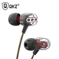 2017 Newest QKZ KD8 3 5mm In Ear Double Dynamic Unit Driver Earphone HIFI Bass Noise