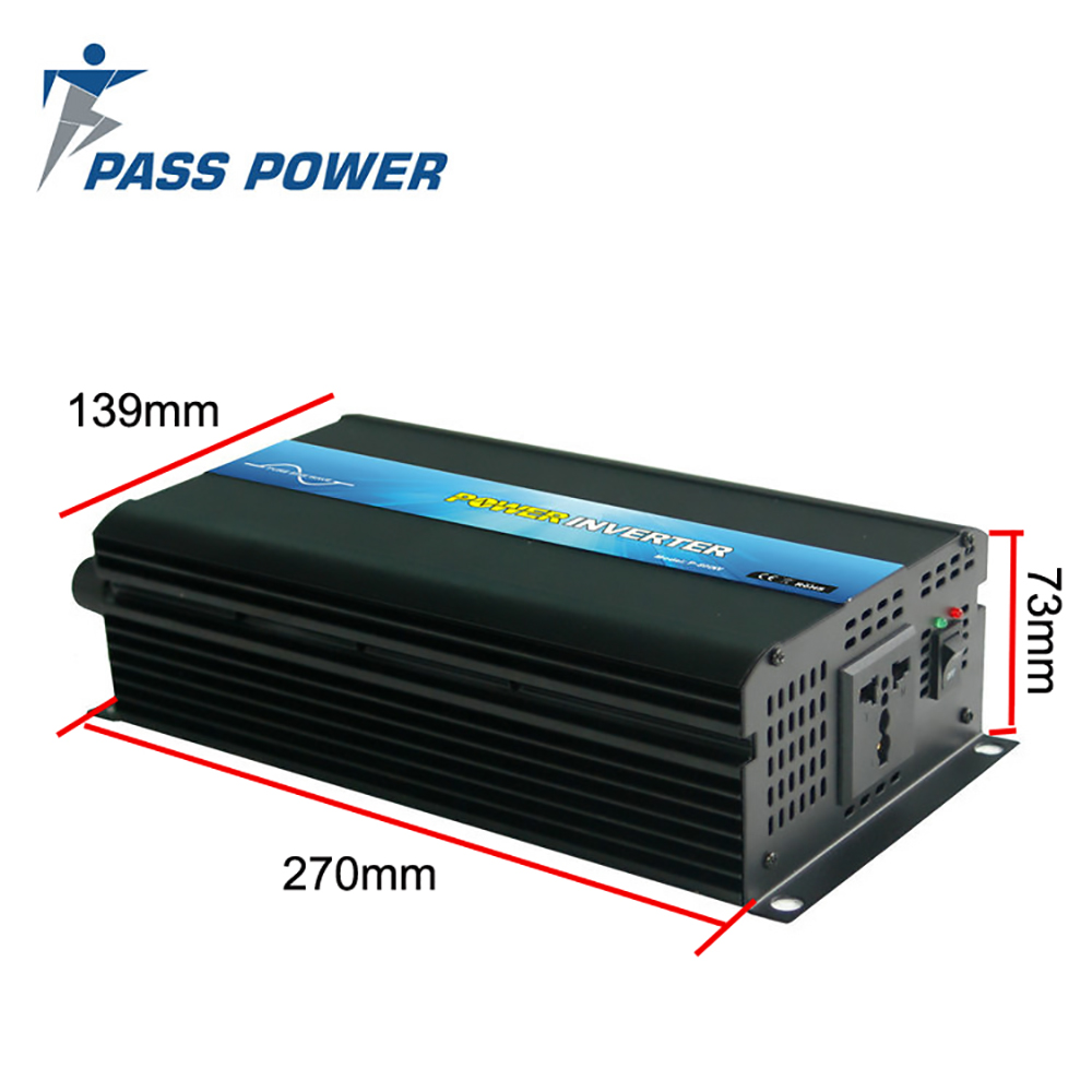 Hot Selling Solar Panels Inverters 300w 24v dc to 220v ac with one year warranty