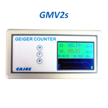 Geiger Counter Nuclear Radiation Detector X-ray Y-ray B-ray X ray Tube Dosimeter With Alarm 2.4 TFT Real-Time Curve