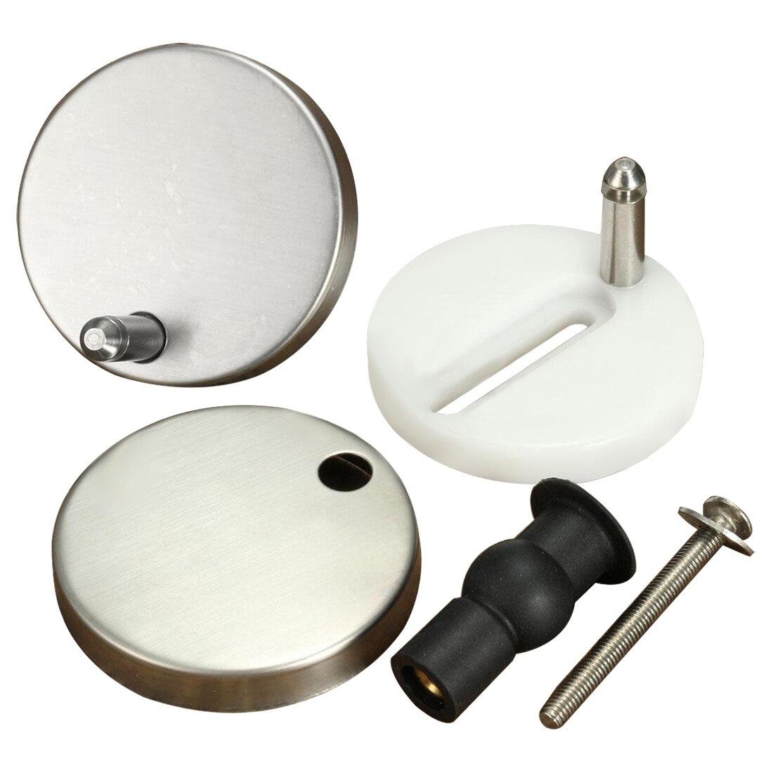 2pcs New Sets Toilet Seat Screws Top Fix Hinge Pack Repair Tool Replacement repair parts replacement stainless steel screws pack for iphone 4 40 piece pack