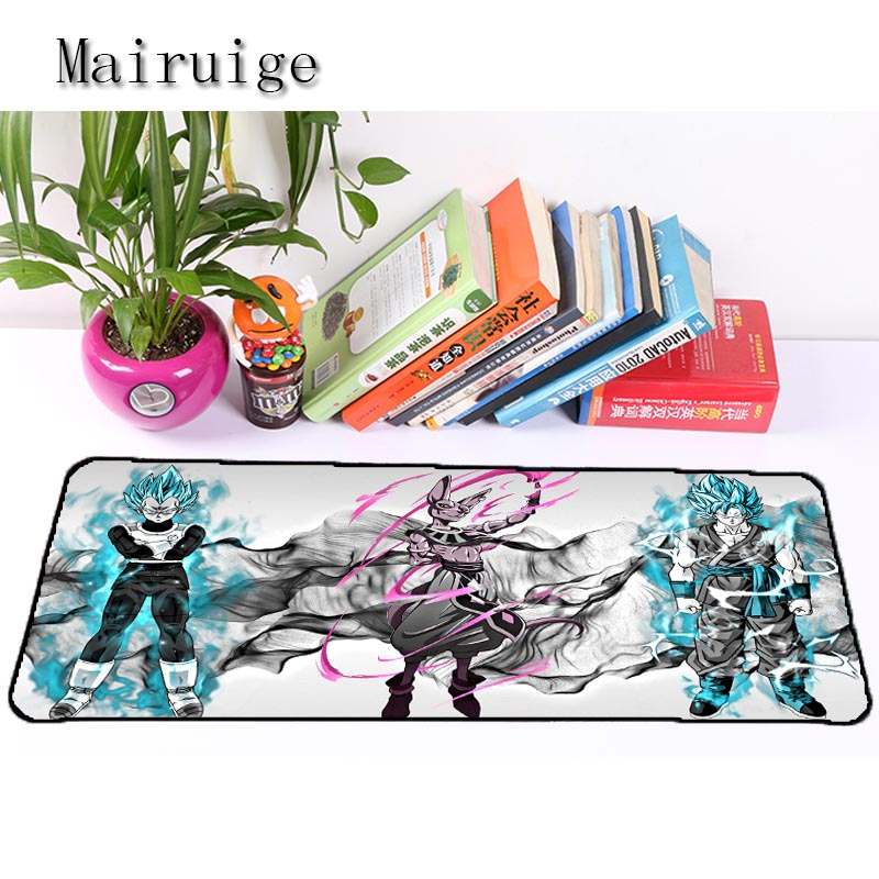 Mairuige Hot Selling Anime Dragon Ball High Quality Anti Slip Mouse Pad Large Size Gaming Mouse Pad Best Rubber Anti Slip Mat